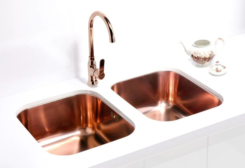 Alveus Monarch Variant 40 Copper, Undermount Sink  Olif