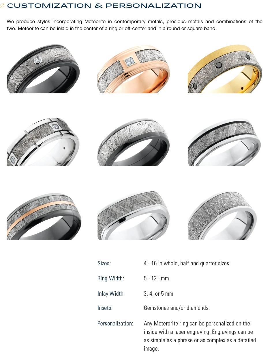 Stonebrook Jewelry Reviews : stonebrook, jewelry, reviews, Meteorite, Information, Stonebrook, Jewelry