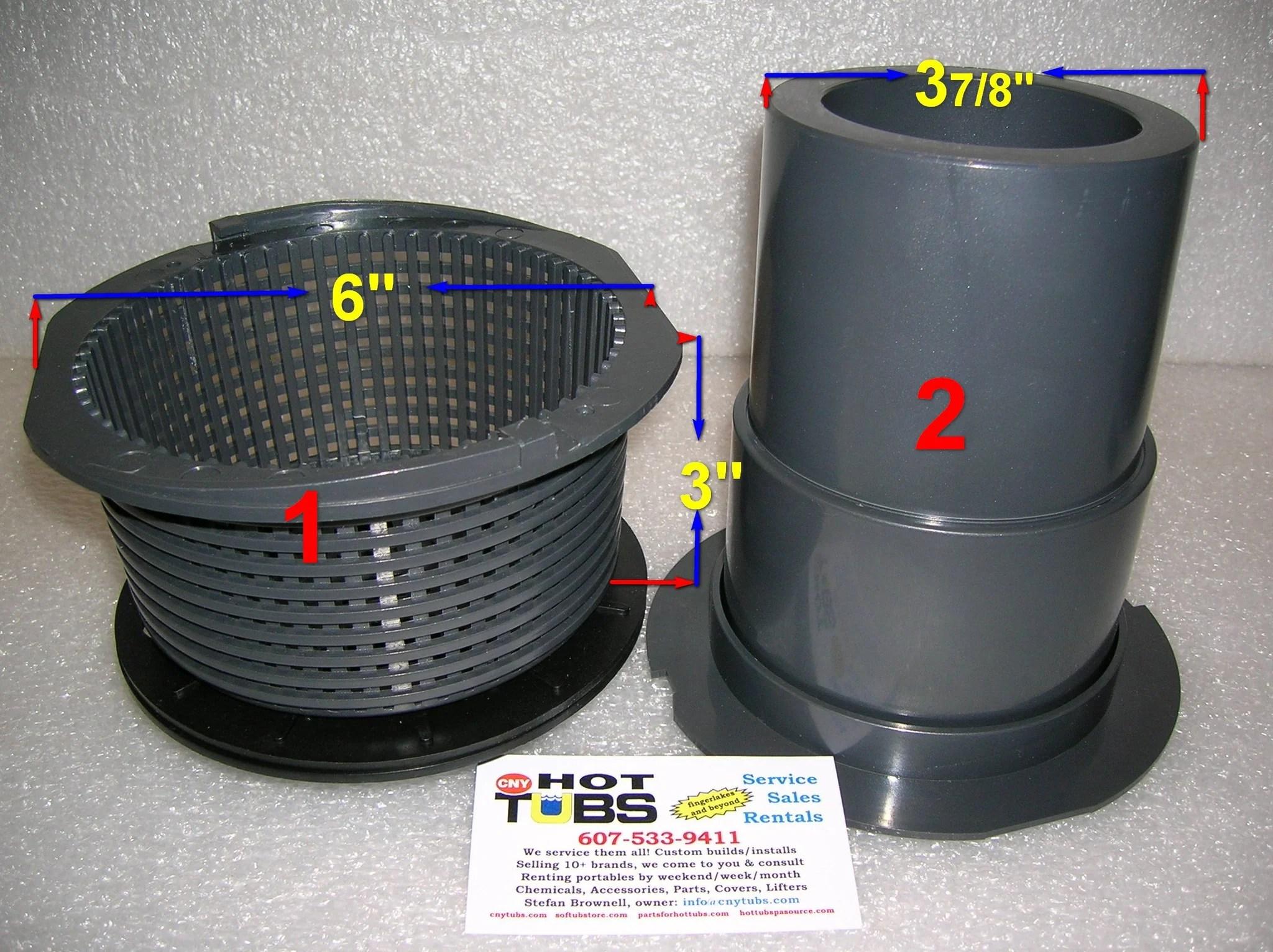 CMP Skimmer Basket 6 Inch 1 In Photo