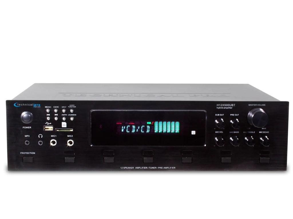 hight resolution of digital hybrid amplifier preamp