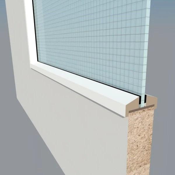 White Glazing Bead FD30  Q Doors