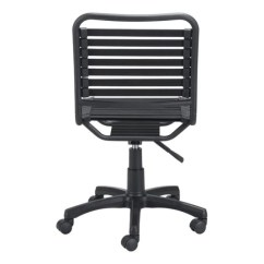 Bungee Office Chairs Dark Table With White Armless Black Wheeled Chair Officedesk Com