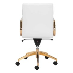 Office Chair Gold Www.chair Cover Express.com Gorgeous And White Leatherette Officedesk Com