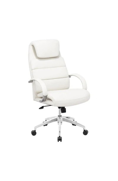 modern grey leather office chair folding beds uk ultra padded premium white officedesk com