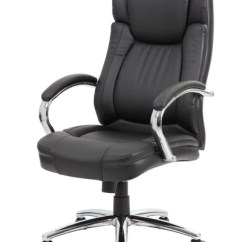 Leather Executive Office Chair Chairs For Little Girls Superior Black Officedesk Com