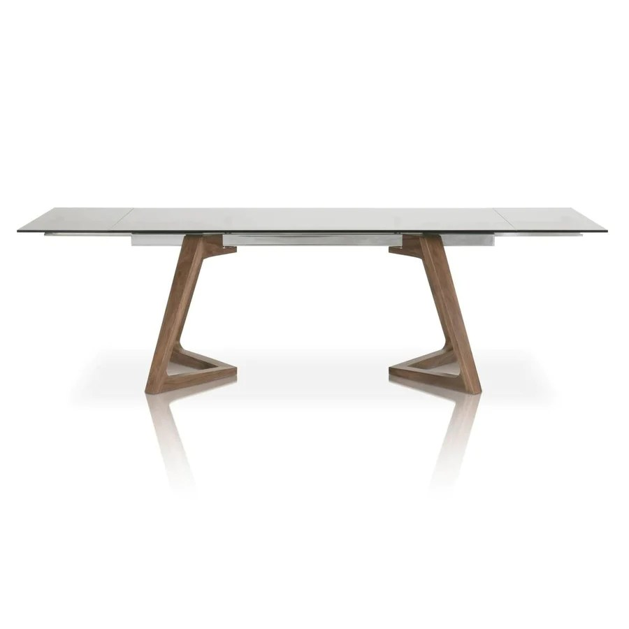modern tables and chairs garden swing chair covers star office furniture more at officedesk com 71 103 conference table with chic walnut frame smoked gray