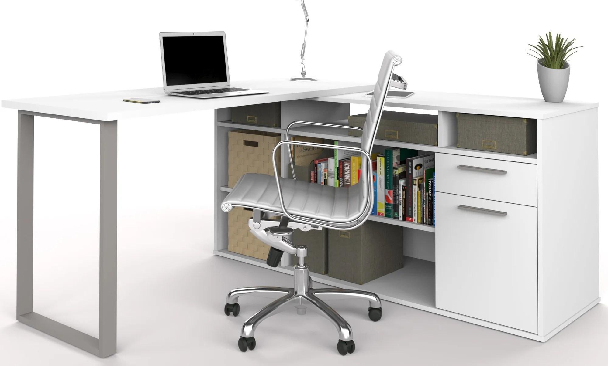 white desk with file cabinet white computer desk with file cabinet rh zenbaby us