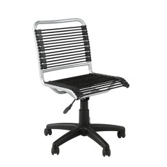 Bungee Office Chairs Sofa Mart Black Chair With Aluminum Frame Officedesk Com