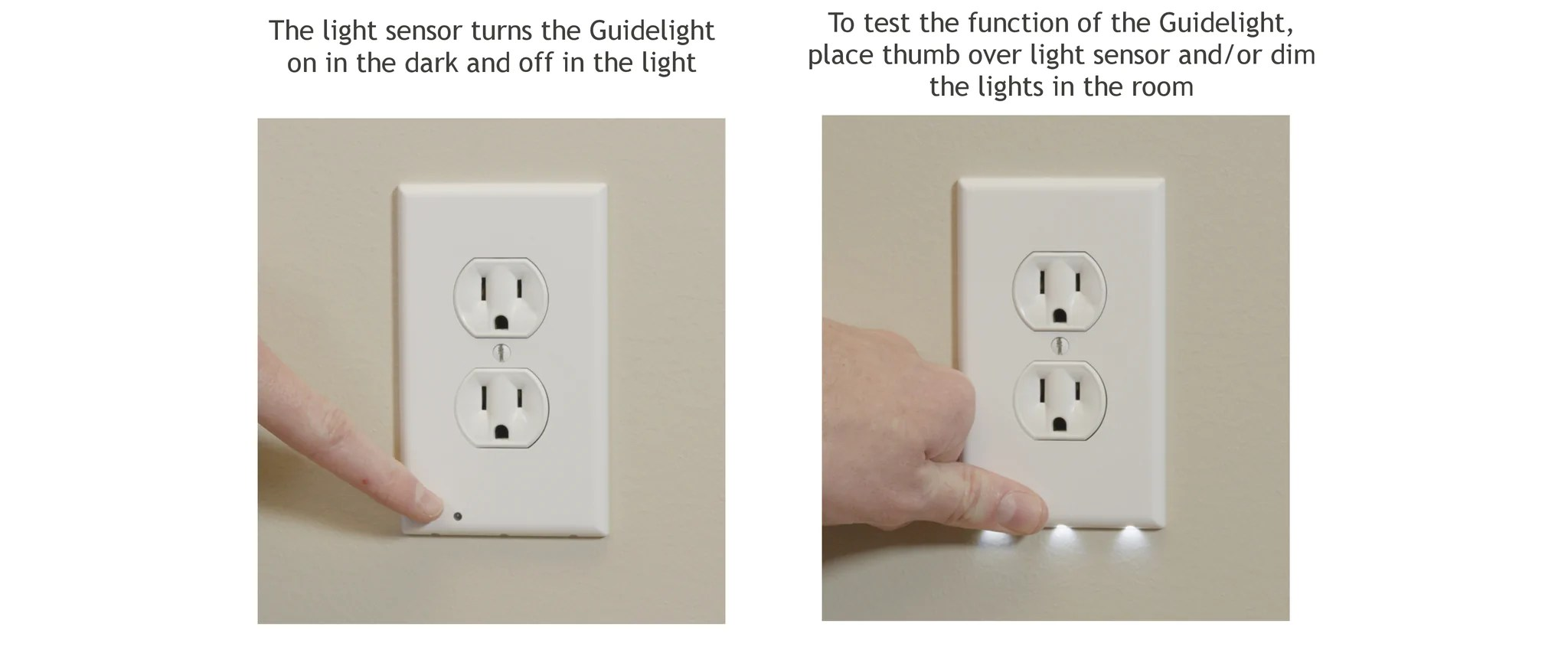hight resolution of if your guidelight is still not working try adjusting the screw that attaches the guidelight to the outlet either tightening or loosening this screw can