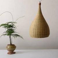 Fabrice Pendants I Modern Bamboo & Wood Pendant Lamp ...