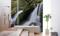 FRESH NEW LOOK FOR YOUR BATHROOM WALLS!  Eazywallz