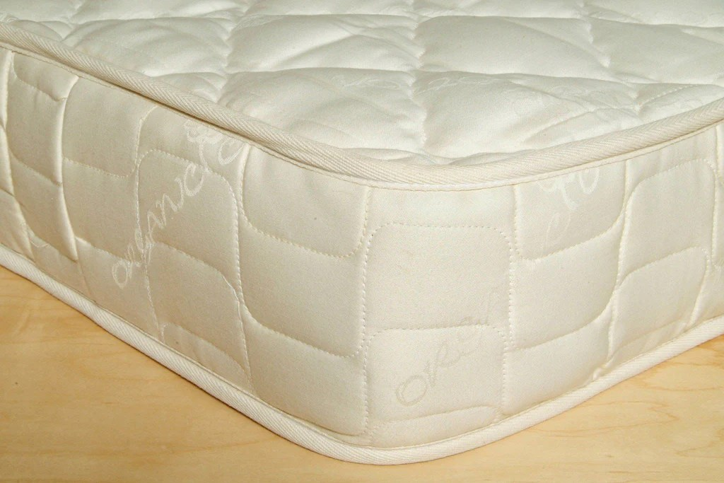 Crib Innerspring Mattress Natural Baby Bedding Organic Nursery  Holy Lamb Organics