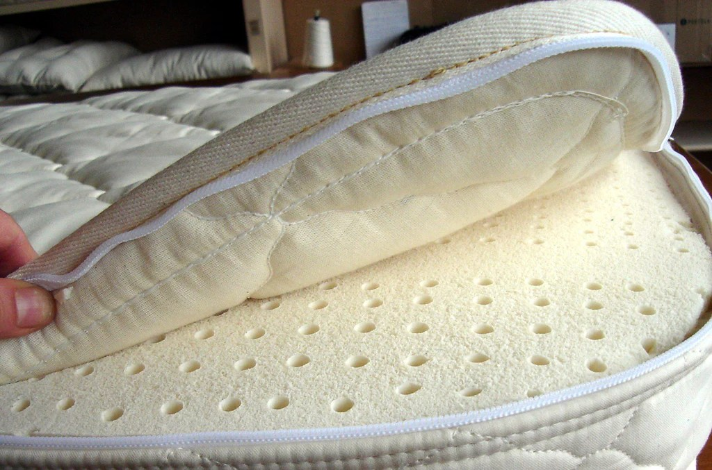 Crib Latex Mattress Natural Organic Nursery Wool