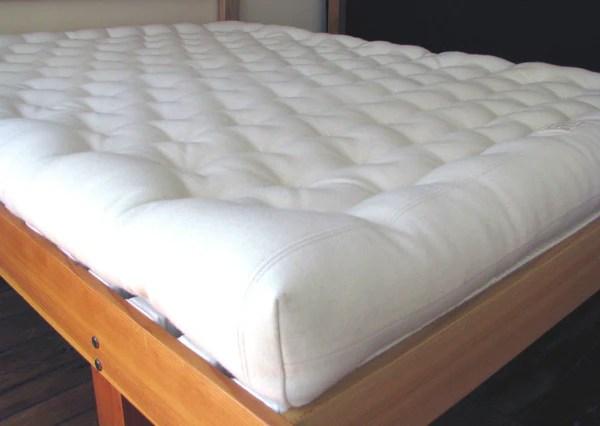 All Wool Natural Mattress Organic Woolen Mattress Green