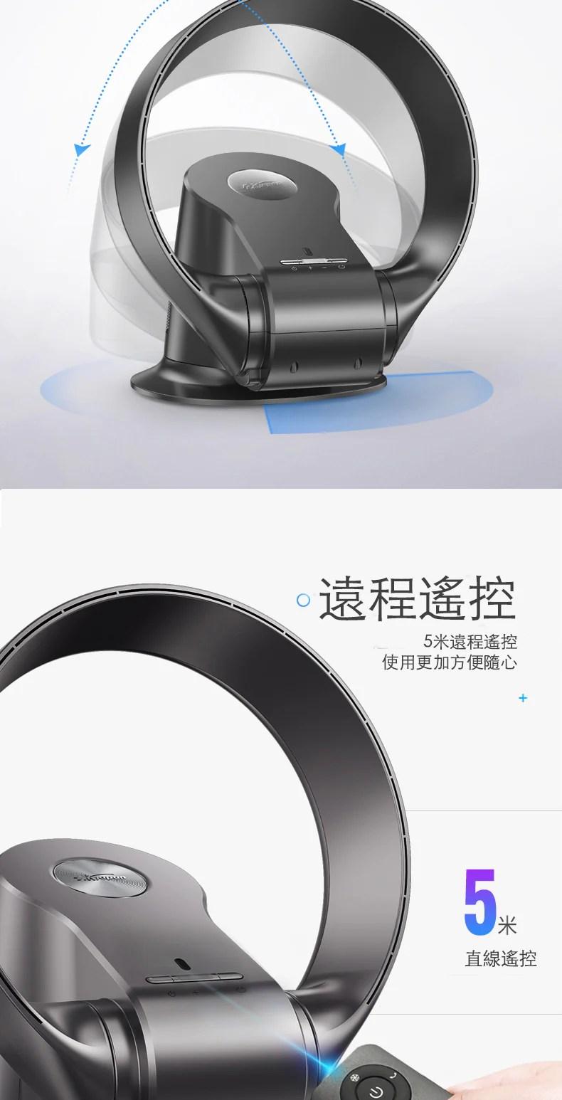 SK Japan 2020新款 12吋可摺疊無葉風扇 CR-309WD(香港三腳插)