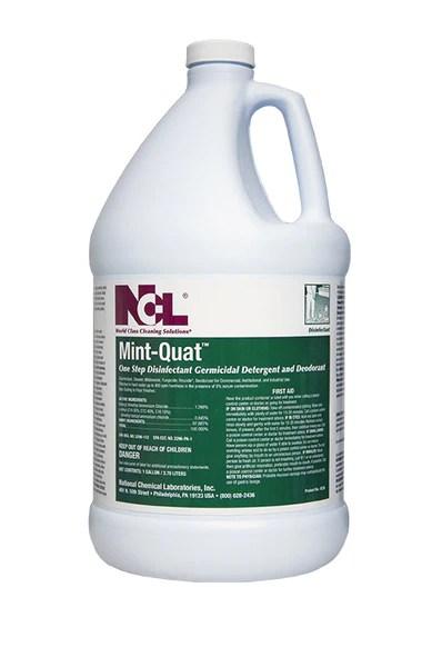 DISINFECT MINT QUAT Disinfectant Cleaner  Croaker Inc