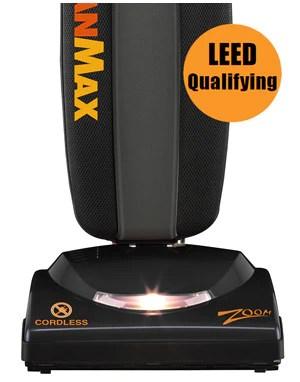 CleanMax Zoom Upright Vacuum Model ZM800 Cordless