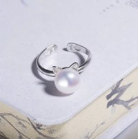 Pearl Paws and Ears Cat Ring  Meowingtons