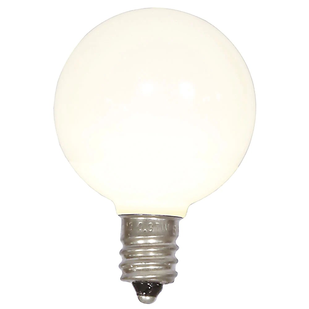small resolution of 5pk vickerman warm white ceramic g40 led replacement bulb