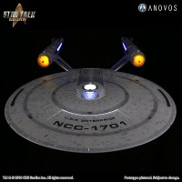 #StarTrek #Anovos #SDCC2018 | #StarTrekDiscovery – your Captain Pike reimagine studio scale #ConstitutionClass #USSEnterprise