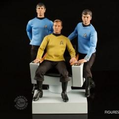 Star Trek Captains Chair West Elm Swivel The Original Series 1 6 Scale Captain 39s