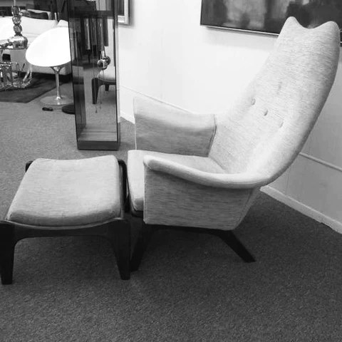 adrian pearsall chair designs just chairs and tables vintage archive catalogue craft associates modern 1611 c for inc