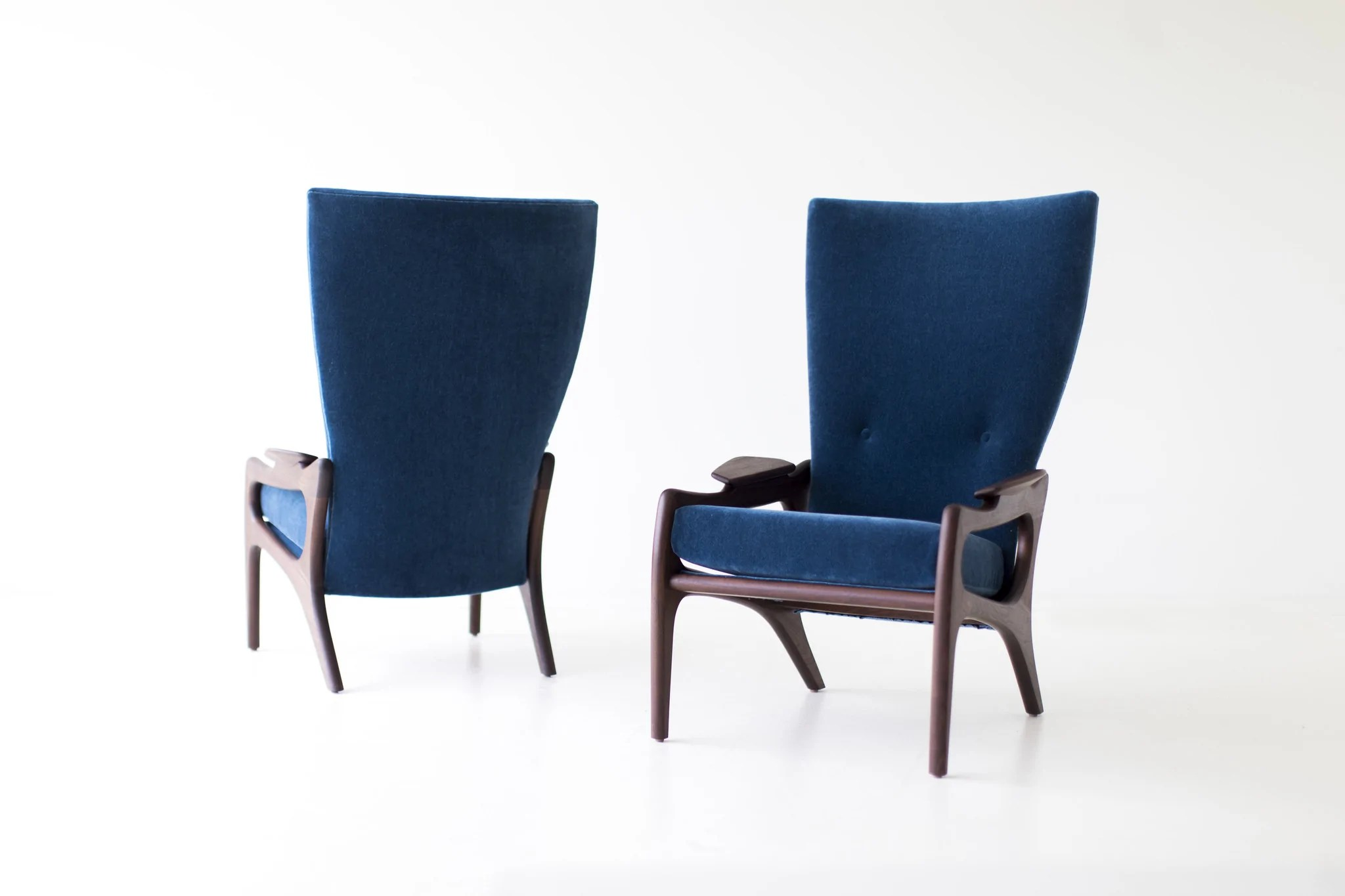 high back contemporary chairs blue ikat chair fresh modern rtty1