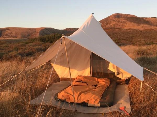 Split Torrent Tent  Ellis Canvas Tents