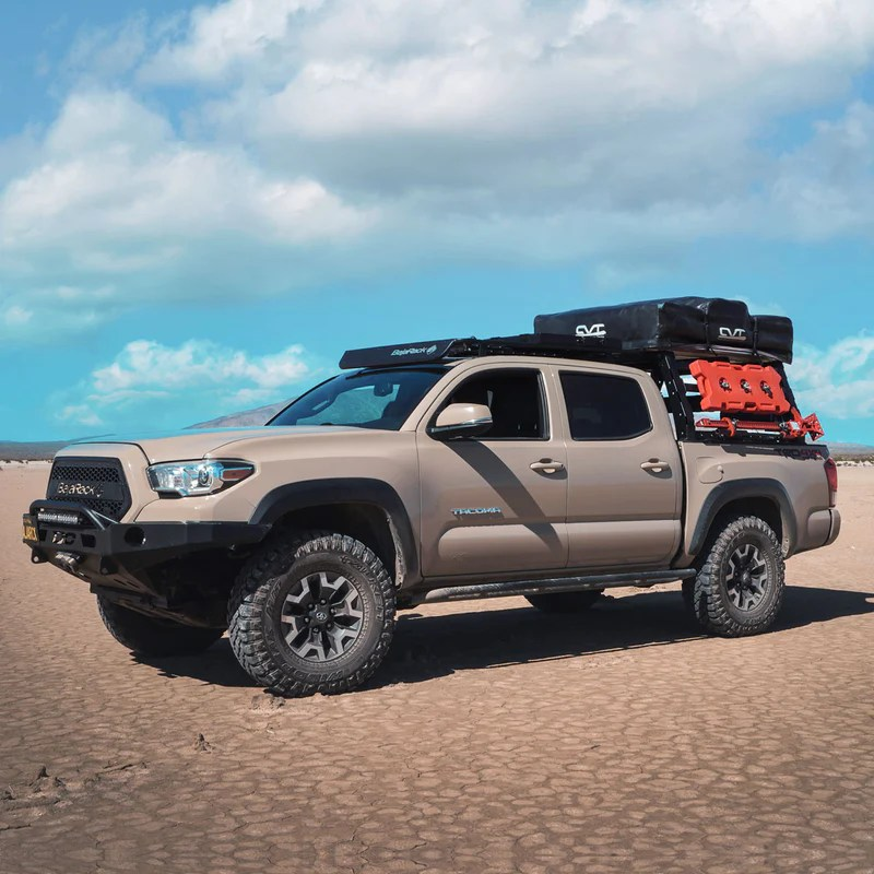 tacoma utility flat rack with spy light system led bar not included 2005 2021