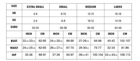 Size chart also  spoilt belle boutique rh spoiltbelle