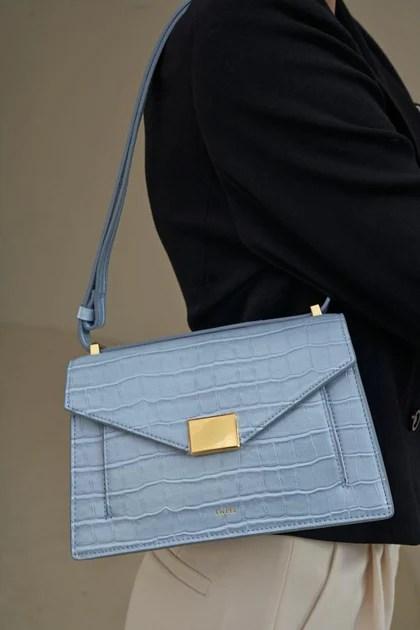 Fashion Crossbody Flap Bag & Purses - Croc Embossed - Friday By JW PEI – JW PEI 臺灣