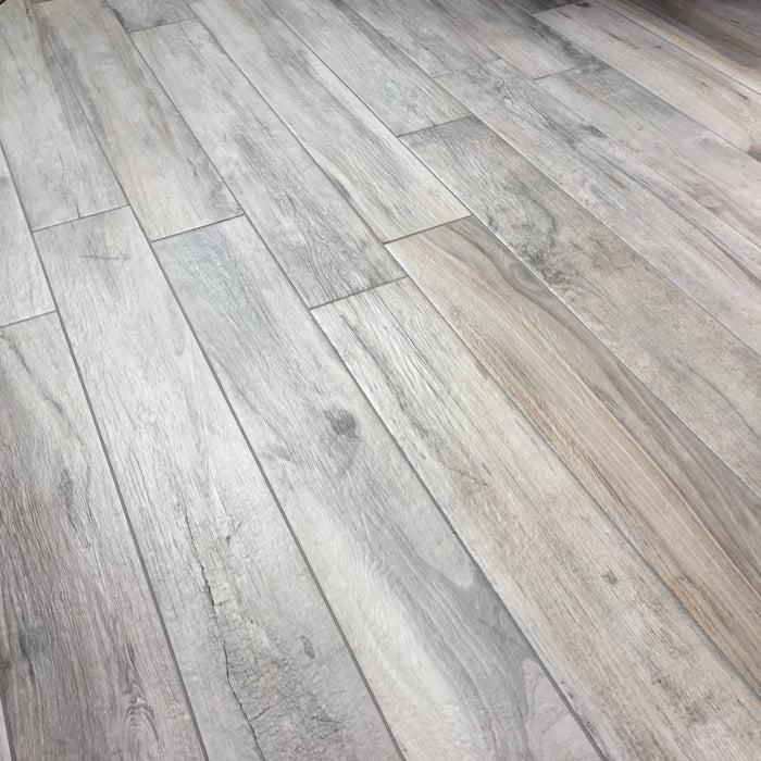 15x100cm chic greige wood tile