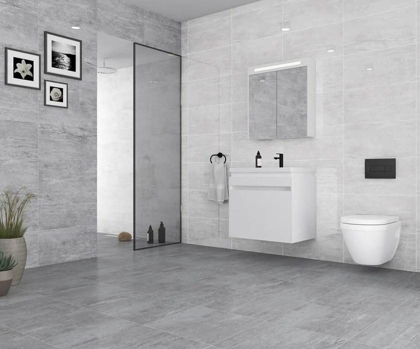 25x50cm salerno light grey wall tile fon 1190