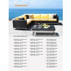 Outdoor Furniture Sofa Cover Dean Room And Board Patio Covers Moss Danforth Sectional 128 X 102
