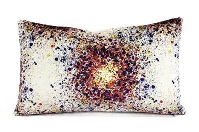 purple multi color pillow fenia s