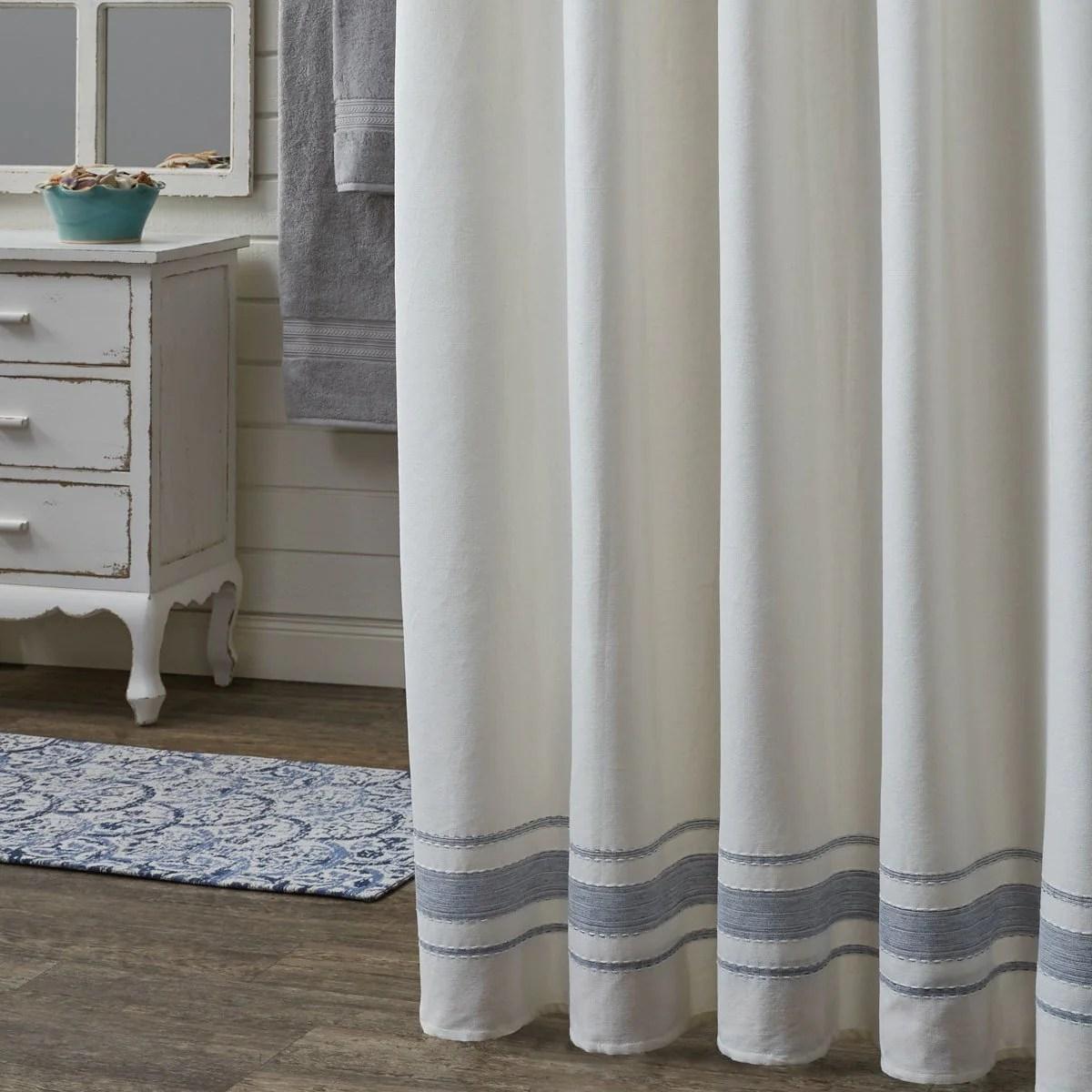 park designs summer breeze shower curtain 72 x 72 inches formal farmhouse bathroom free shipping
