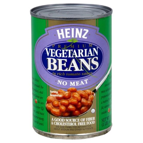 Heinz Vegetarian Bean Tomato Sauce 16ounces Pack of12