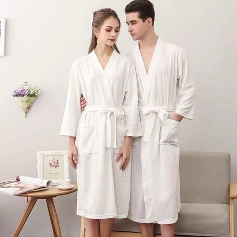 Robe De Chambre Homme Grande Taille Blanche Kissyrobe