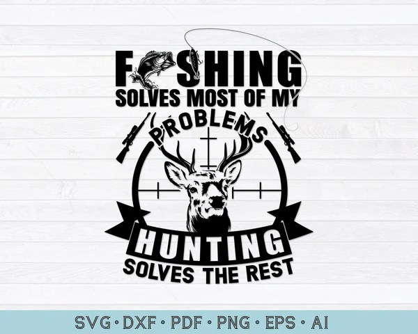 Download Fishing svg file - CraftDrawings