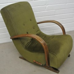 Banana Leaf Rocking Chair Dining Covers In Johannesburg 1930 39s Bentwood Home Alchemy