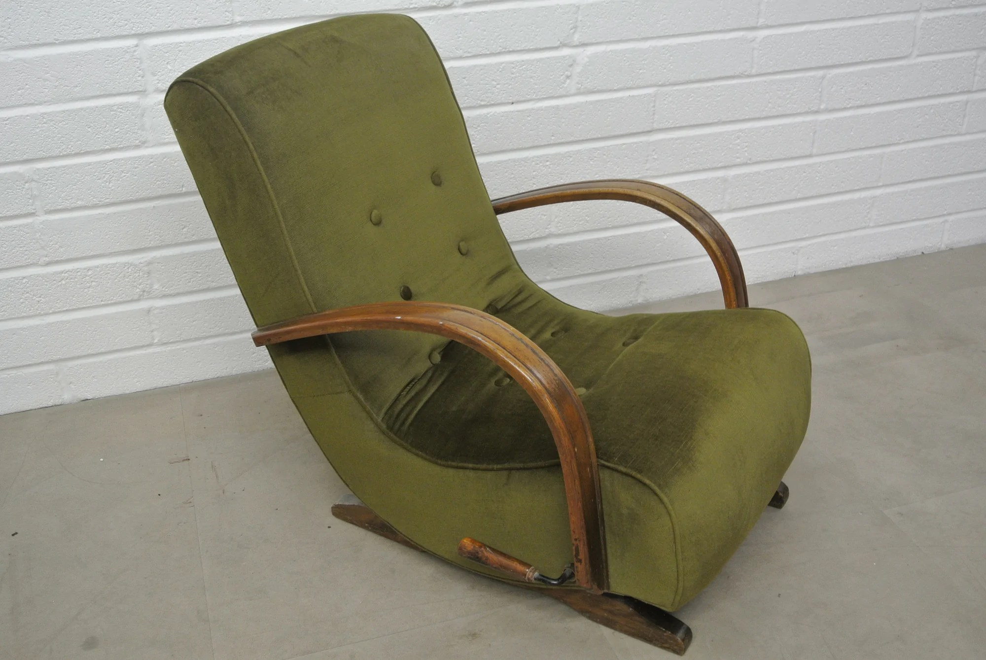 Banana Rocker Chair 1930 S Bentwood Banana Rocking Chair Home Alchemy