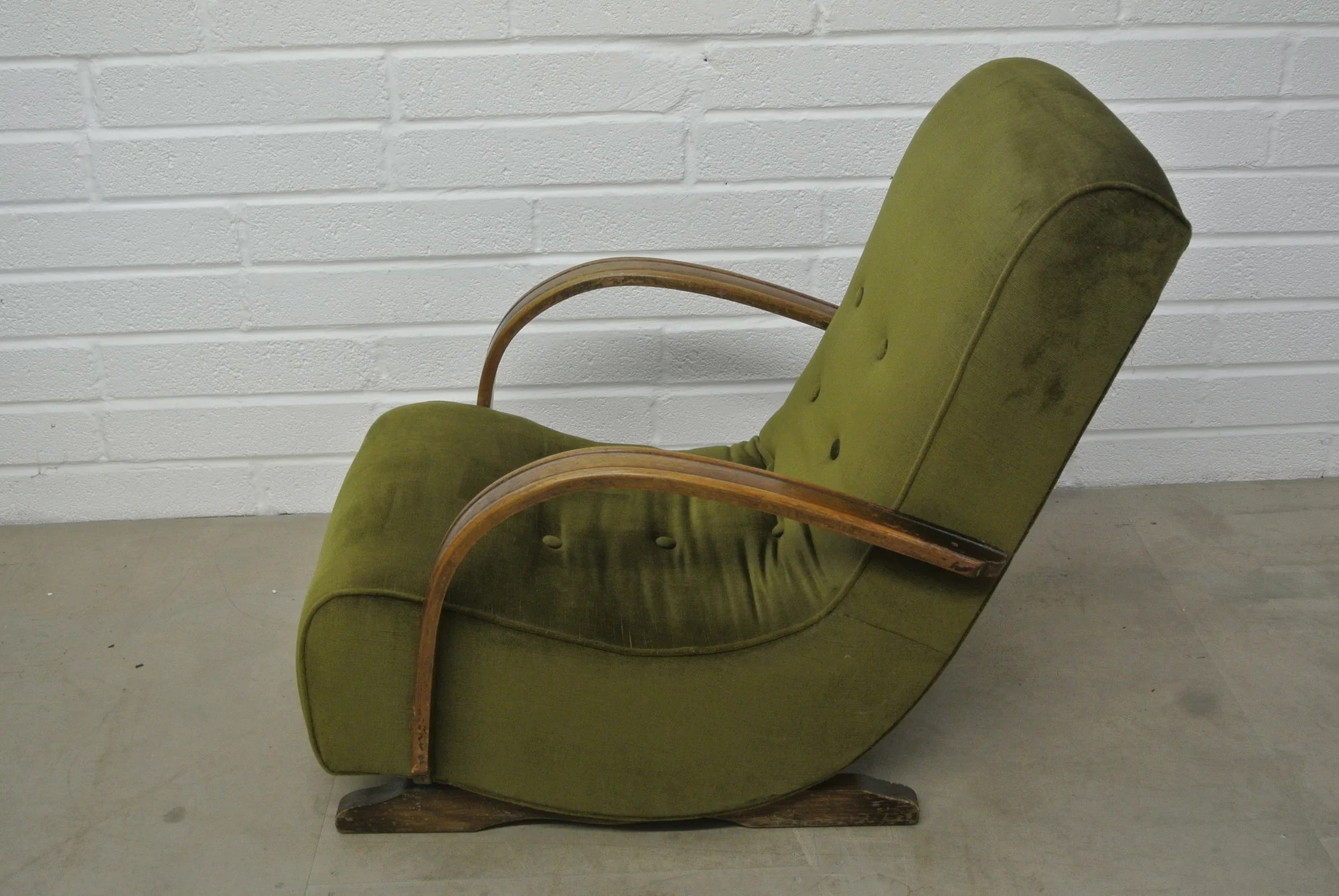 Banana Rocker Chair 1930 39s Bentwood Banana Rocking Chair Home Alchemy