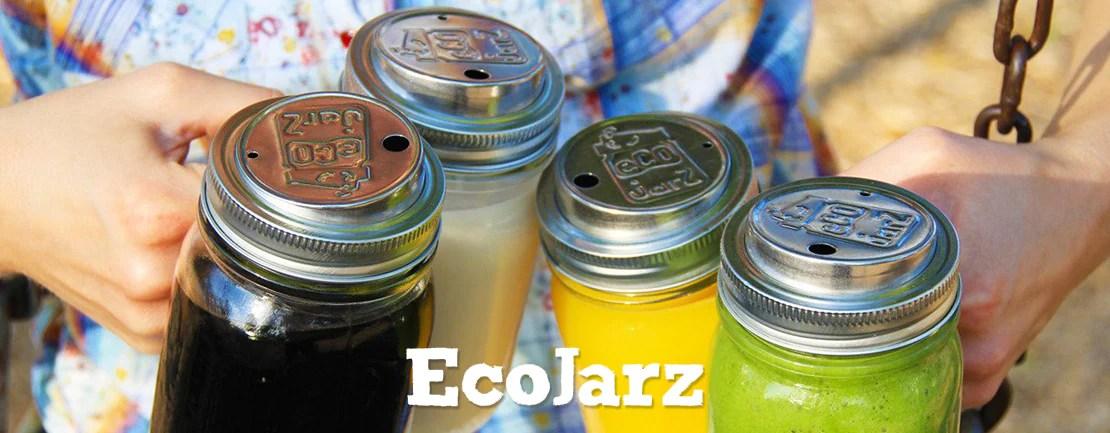 Ecojarz 美國梅森罐不鏽鋼杯蓋 – Shark Tank Taiwan 歐美時尚生活網