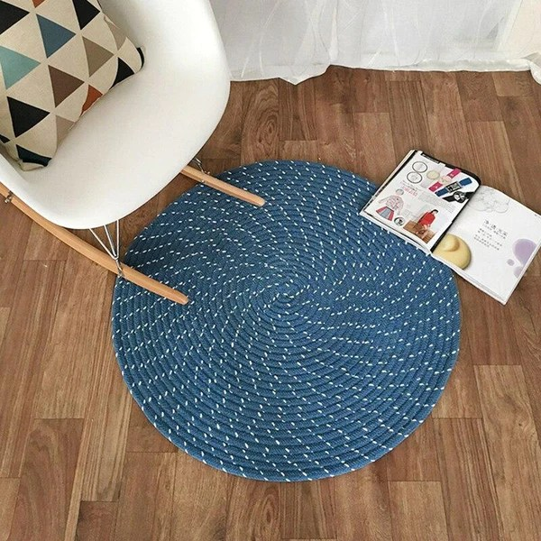 tapis rond 80 cm mon tapis rond