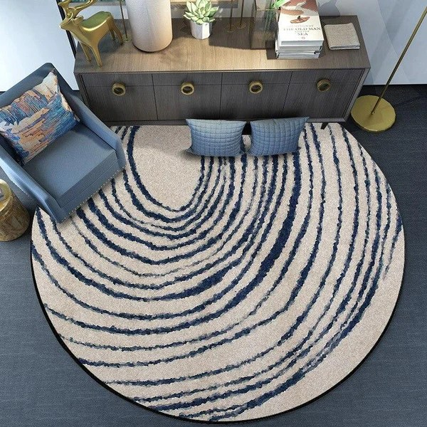 tapis rond le geant