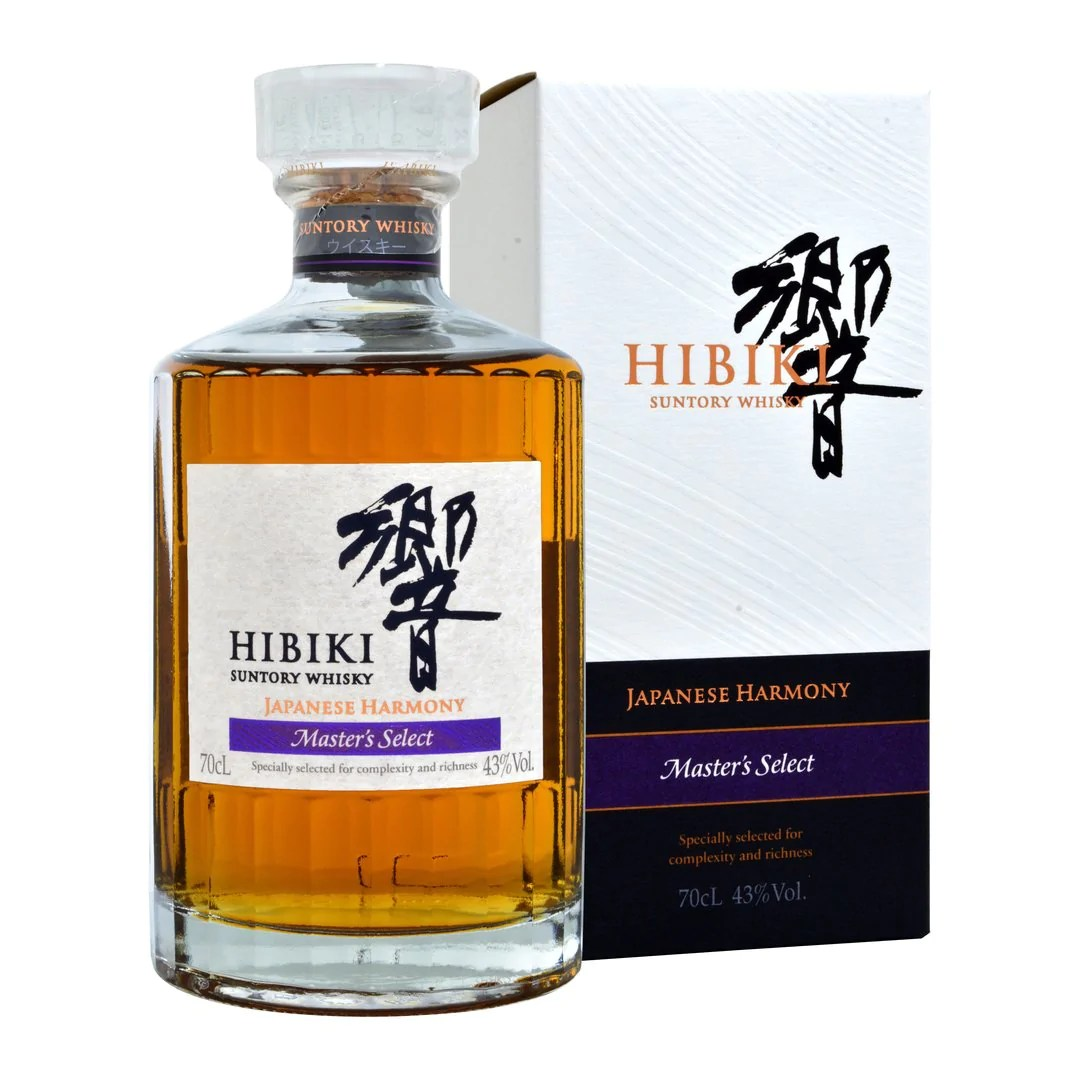 Hibiki Japanese Harmony Master's Select Suntory Whisky | Tropical and rare fruits. premium local vegetables and meat