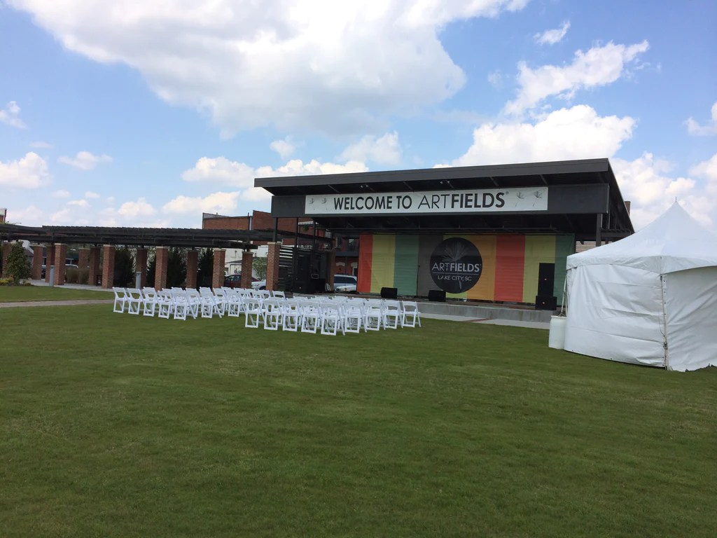 chair rentals columbia sc colorful folding chairs 2014 artfields in lake city  ruths house event