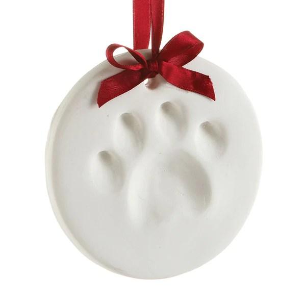 pawprints ornament  Pearhead