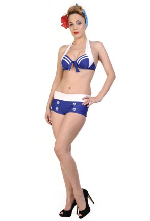 Hello Sailor Nautical Bikini