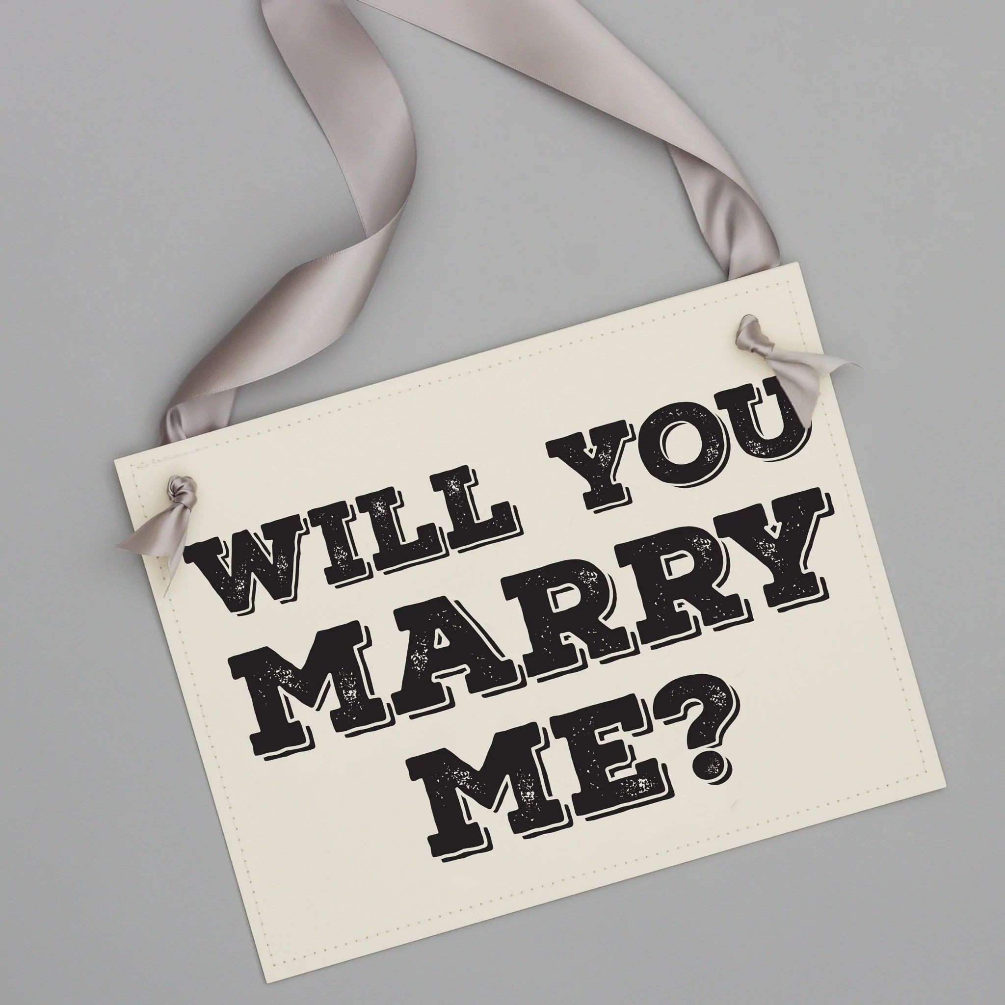 Will You Marry Me Proposal Signs  Creative Ways To